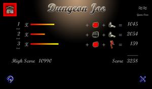 dungeon-joe-gameover